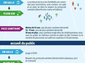 Mesures sanitaires applicables dès le 21 juillet