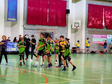 Victoire de nos U15 D 20-35