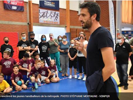 Jeux olympiques : une délégation de Paris 2024 en visite à Villeneuve-d'Ascq