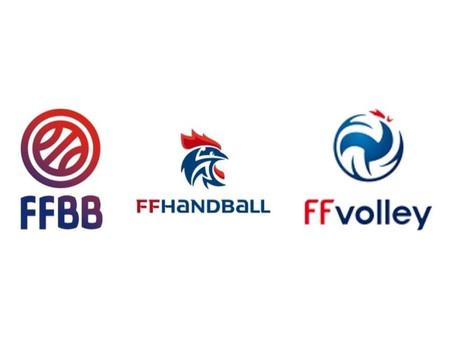 Communiqué de la FFBB en commun avec le Hand et le Volley