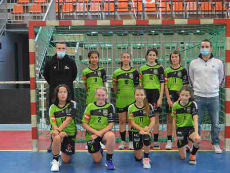 Victoire des U13 filles