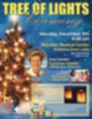 Houston Medical Center Tree of Lights Ce