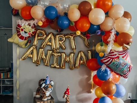Jaxon's Party Animal 3rd Birthday!