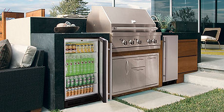U-Line Outdoor Glass Door Refrigerator