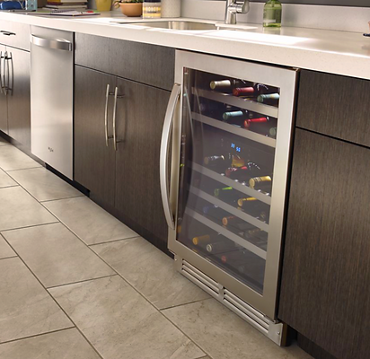 Whirlpool Under the Counter Wine Refrigerator