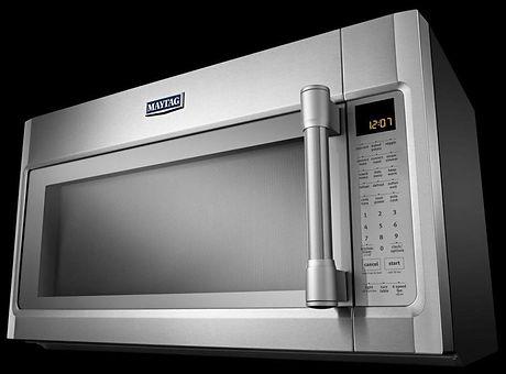 Maytag Stainless Steele Microwave