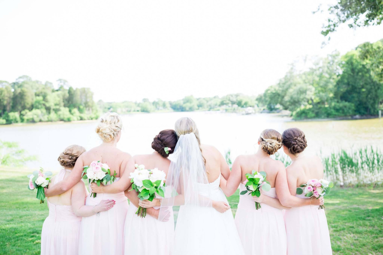 Bridal Party formal updo's