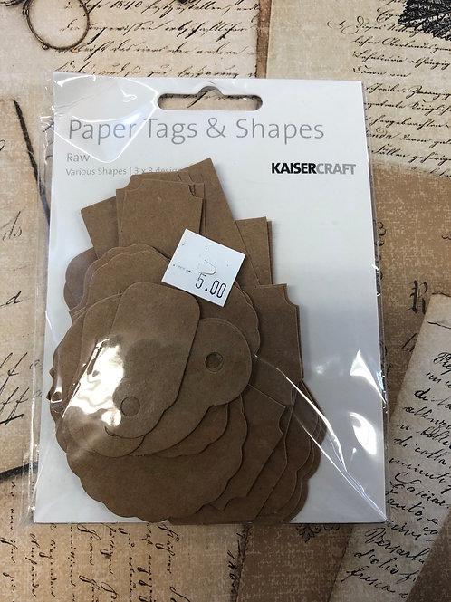 Raw Paper Tags