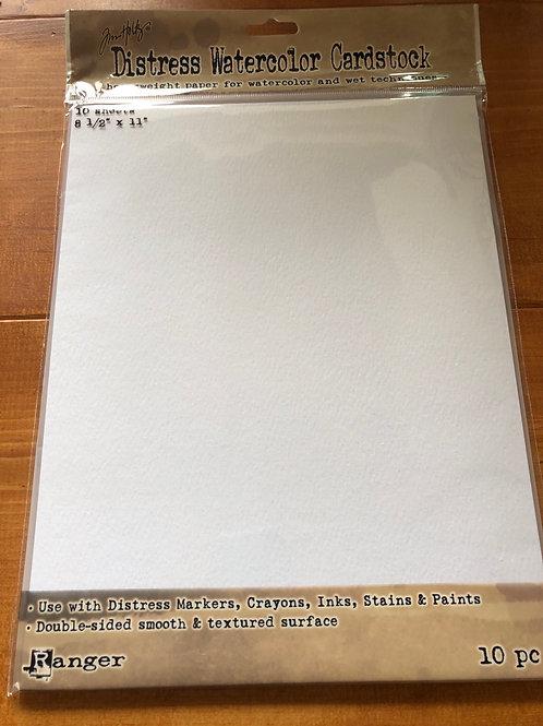 Tim Holtz Watercolor Cardstock TDA53927