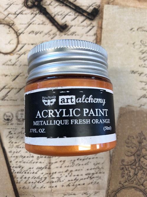Acrylic Paint Fresh Orange