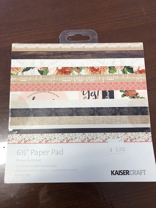 Always & Forever Paper Pad