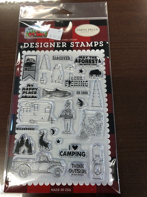 Gone Camping Stamps