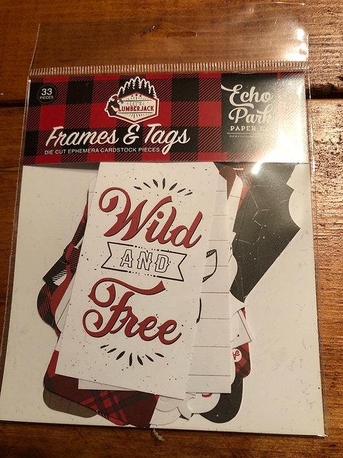 Let's Lumberjack Frames & Tags LU225025