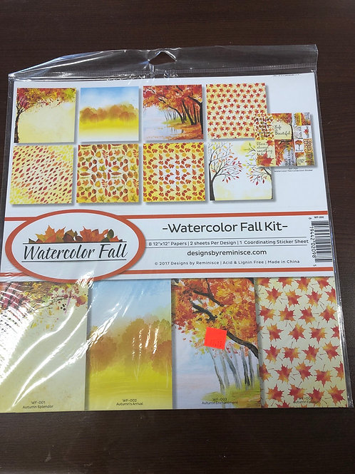 Watercolor Fall By Reminisce