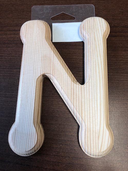 """6"""" wooden N"""