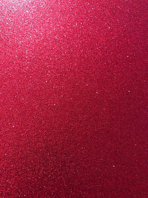 Ruby Glitter Cardstock GC120