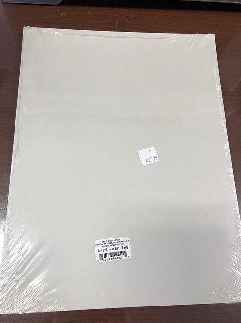Bazzill Paper 8.5x11 Taffy Paper