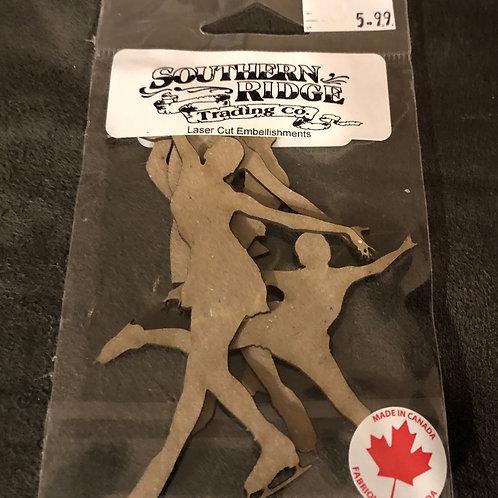 Figure Skaters Chipboard
