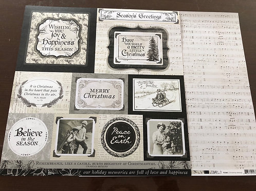 Christmas Melody Paper