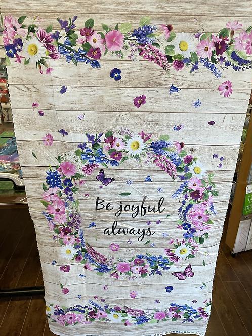 Be Joyful Panel