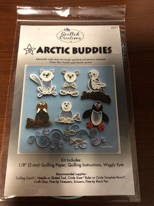 Arctic Buddies Quilling