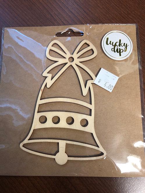 4 1/2 wooden bell