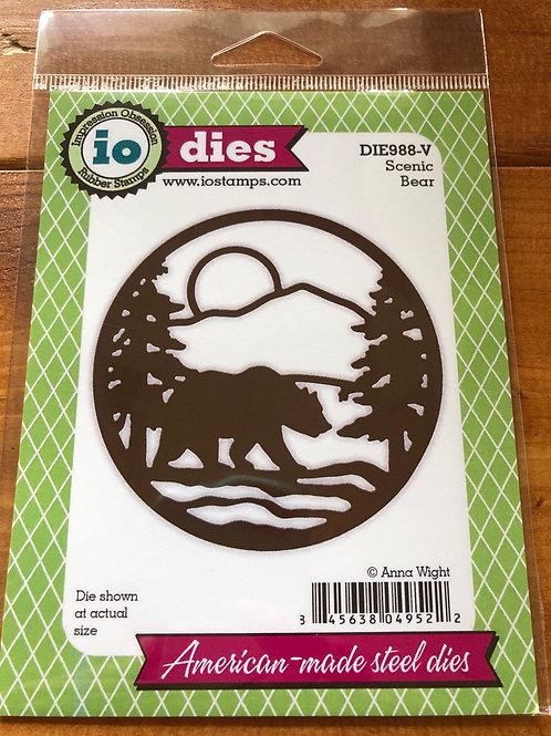 Scenic Bear Die DIE988-V
