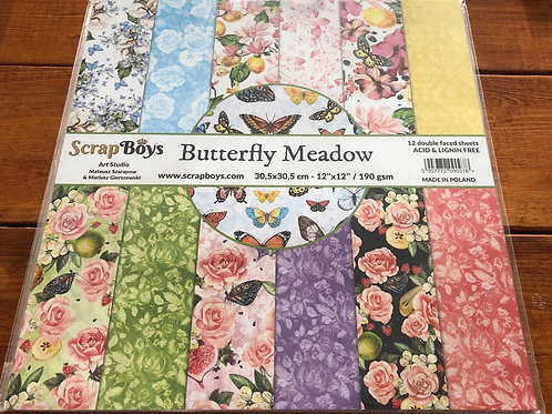 Butterfly Meadow Paper Pack