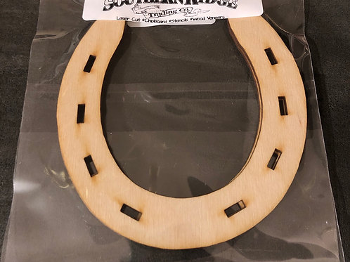 Wooden Horseshoes Pack 2