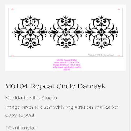 M0104 Repeat Damask