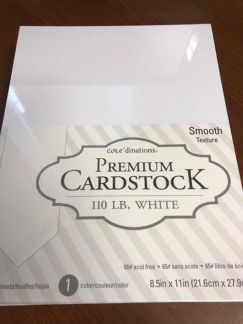 110lb White Cardstock