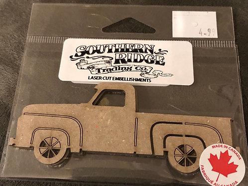 """4"""" Farm Truck 2pc Chipboard"""