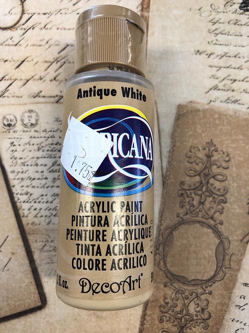 Acrylic Paint Antique White
