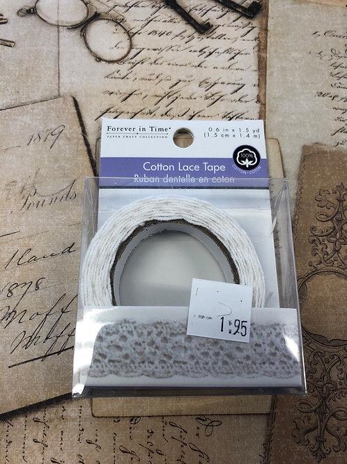 Cotton Lace Tape
