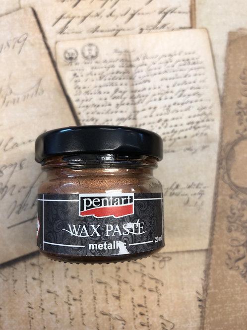 Brass Metal Wax Paste