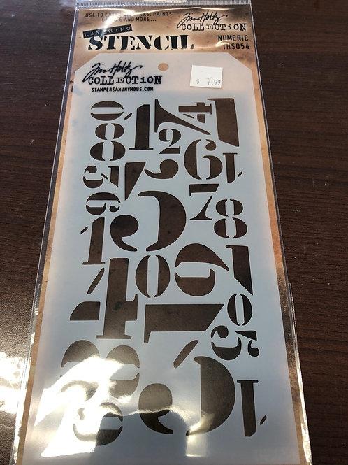 Numeric Stencil