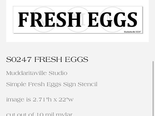 S0247 Fresh Eggs
