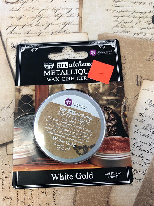 White Gold Wax