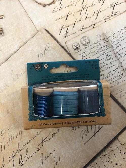 Blue Cord/Wire
