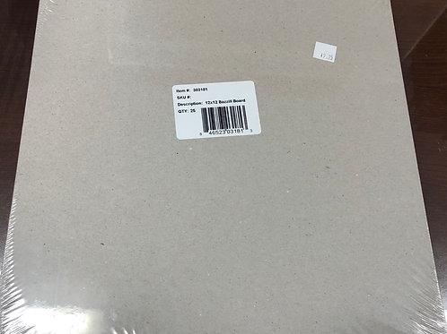 303181 -12x12 Bazzill Board Qty 25