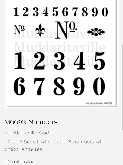 M0092 Numbers