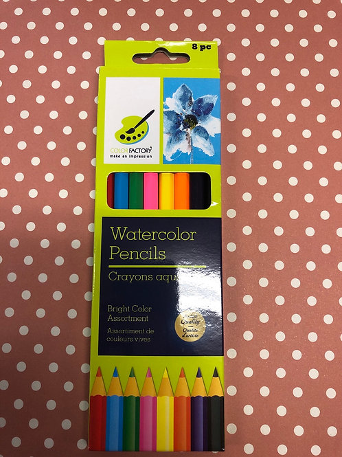 PA480 Watercolor Pencils 8pc