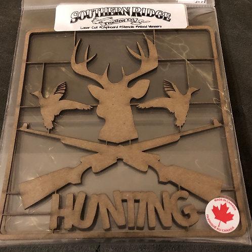 Hunting Set Chipboard