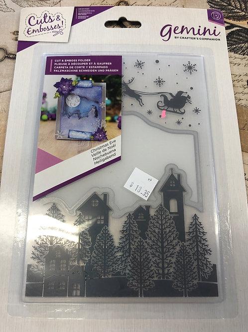 Christmas Eve Cut & Emboss Folder