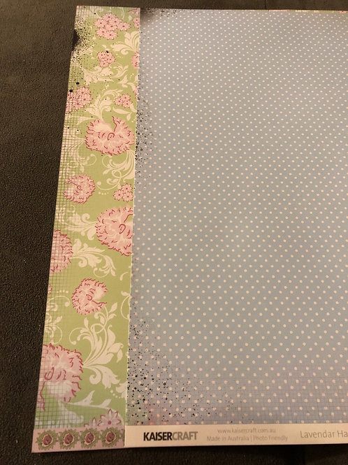 12x12 Mulberry P1104 Lavender Collection