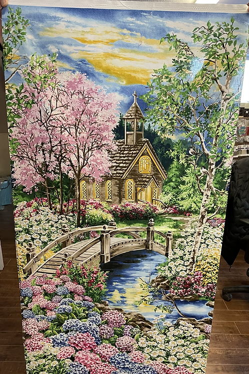 Church Panel 23-3/4x43-1/2
