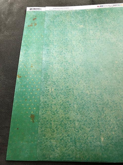 "12"" Island Mist Vintage BoBunny Paper"