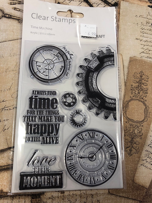 Time Machine Stamp Collection