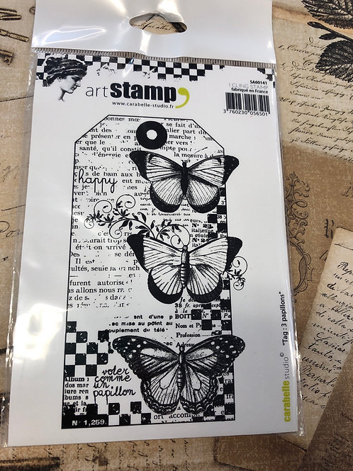 Art Stamp Tag