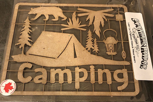 Camping Chipboard